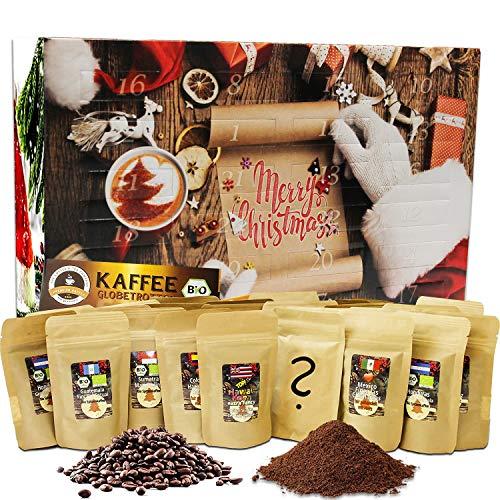 C&T Kaffee Adventskalender 2020 (Ganze Bohnen) | 24 à 25g...