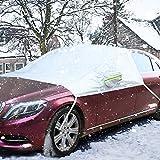 COFIT Windschutzscheiben Schneeabdeckung Abdeckung für Winter Frost EIS Schnee...