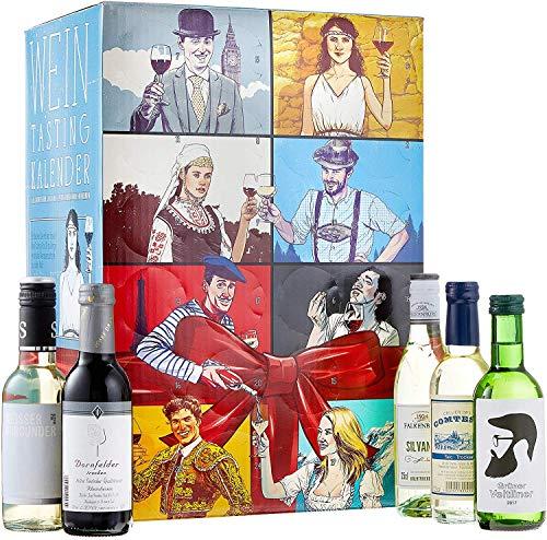 KALEA Wein Tasting Adventskalender, Weinverkostung,...