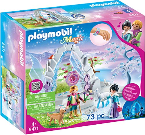 PLAYMOBIL Magic 9471 Kristalltor zur Winterwelt mit...