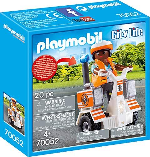 PLAYMOBIL 70052 City Life Rettungs-Balance-Roller, bunt