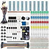 Smraza Basic Starter Kit with Breadboard,Power Supply,Jumper...