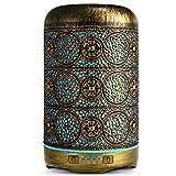 SALKING Aroma Diffuser, 260 ml Metal Aromatherapy Diffuser ...