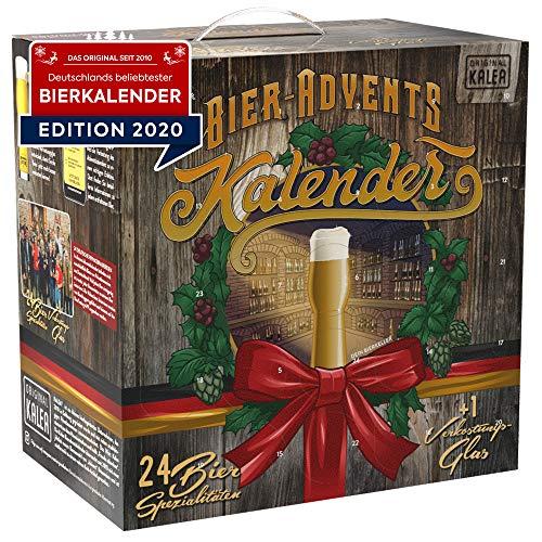 KALEA Bier Adventskalender Füllung 2020, deutsche...