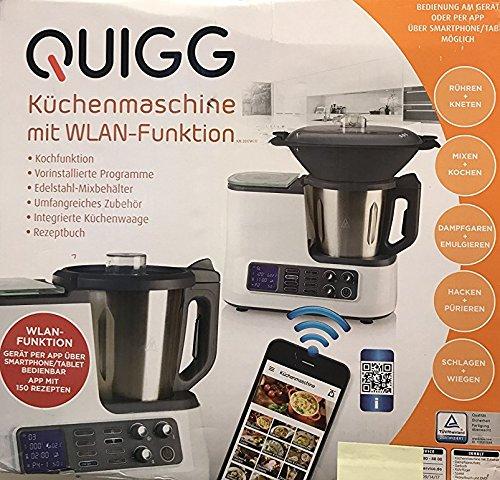 -Quigg -Küchenmaschine -mit -WLAN -Funktion incl....