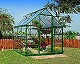 Palram Hybrid greenhouse, green, 186x185x208 cm