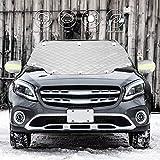 FREESOO крышка лобового стекла автомобиля зима, снегозащита оконная крышка лобовое стекло ...