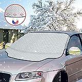 otumixx Frontscheibenabdeckung Auto Scheibenabdeckung Windschutzscheibe Abdeckung Magnet Fixierung Faltbare Abnehmbare Auto Abdeckung für die...