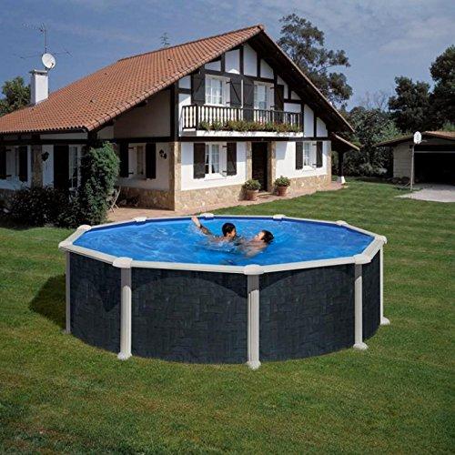 Gre kit460nrt–Pool rund Dekoration Rattan Dim: Ø 460H 120