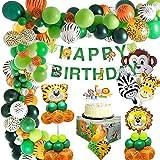 MMTX jungle fødselsdag dekoration - børns fødselsdag deco ...