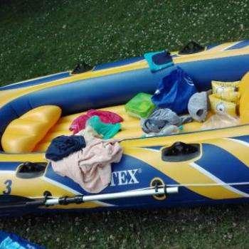 Schlauchboot für 2 bis 3 Personen - ohne Motor
