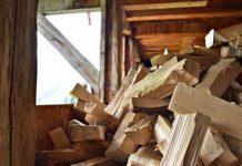 Holzspalter - leicht Holz hacken