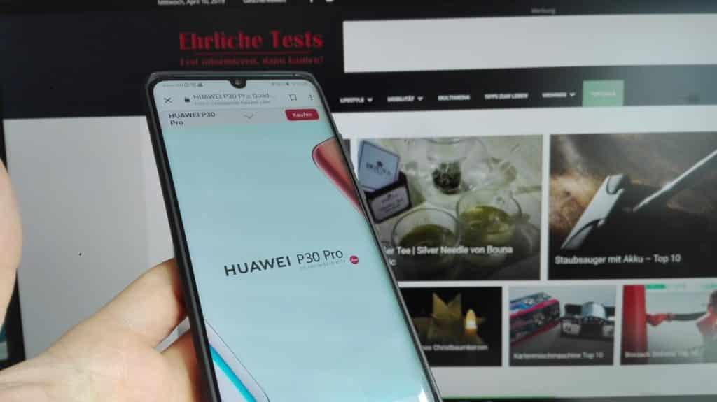 Huawei P30 Pro + Zhiyun Smooth 4