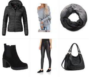 черная мода наряд элегантность