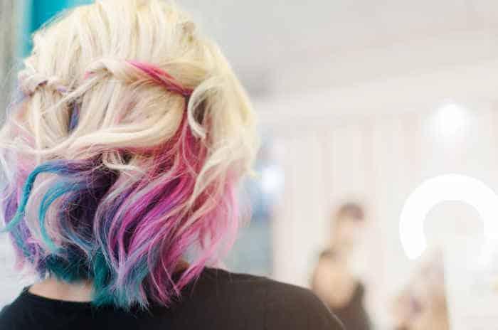 Haarkreide | schnell Haare färben