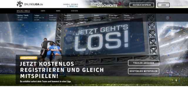 Onlineliga.de | Online Fußballmanager Test | Vorstellung