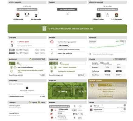 onlineligade overzicht voetbal