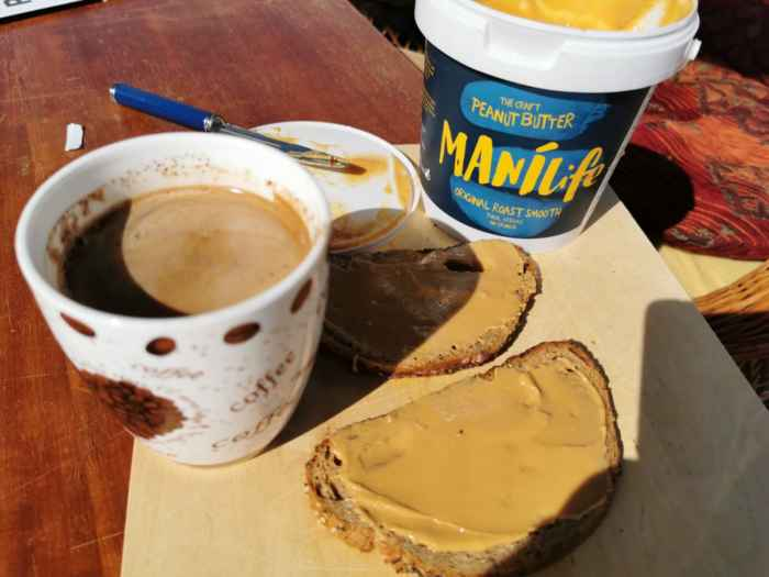 Peanut butter from Argentina | without palm oil | no added sugar