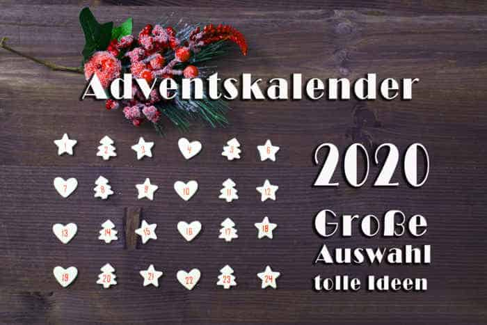 Advent calendar 2020 | Large selection | Great ideas