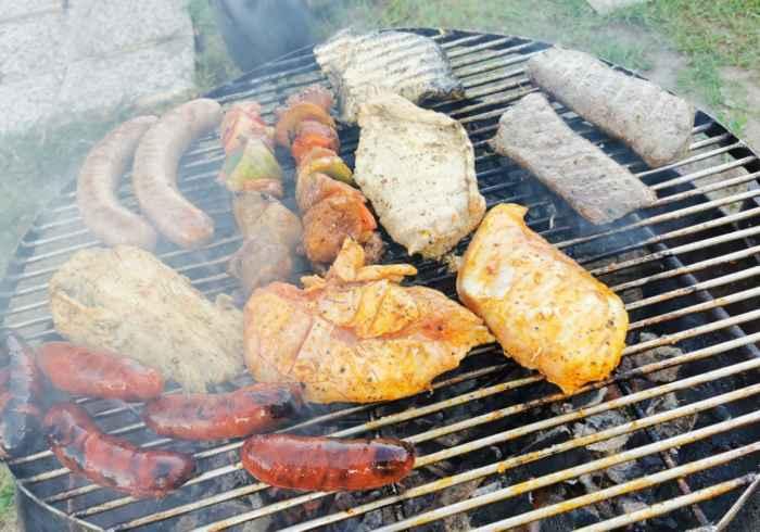 Grill und Fleisch