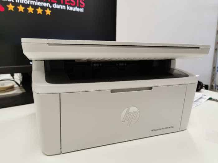 Test: B / W laser printer from HP | HP LaserJet Pro MFP M28w